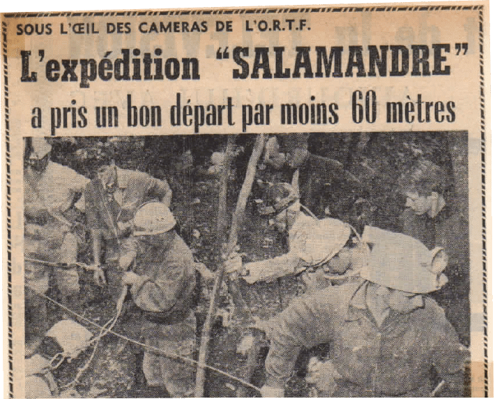 1965: Expedition Salamandre