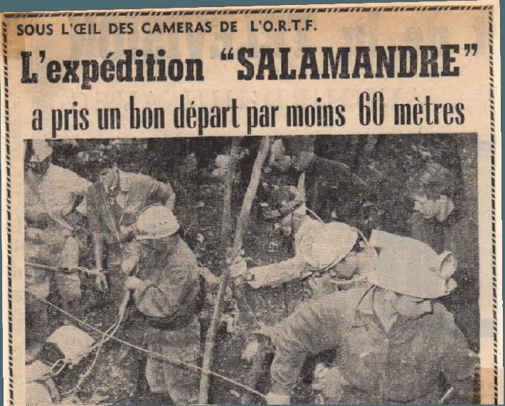 1965: Expedition Salamandre