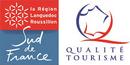 Logo Sud de France - Qualité Tourisme