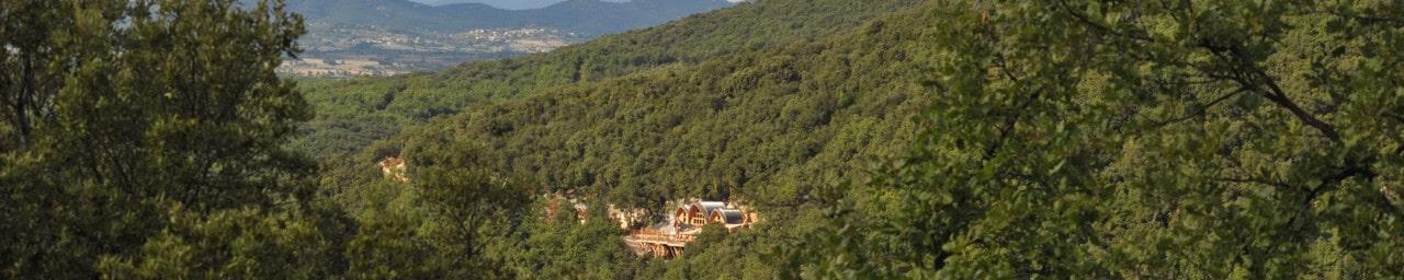 Le site de la Grotte de la Salamandre, en pleine nature