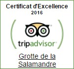 Certificat 2016 Tripadvisor