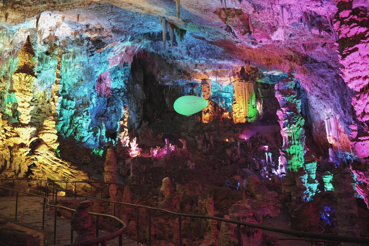 The Aeroplume in the Grotte de la Salamandre